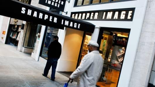 Sharper Image store