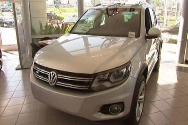 Volkswagen 'shoots the gap' on Toyota