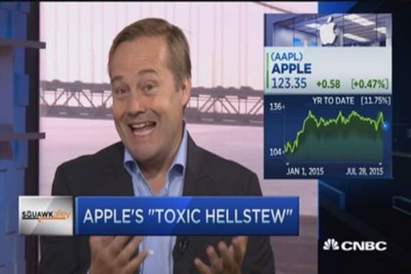 Apple's 'toxic hellstew'