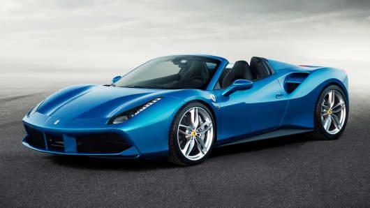 Ferrari teases new 488 Spider supercar
