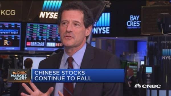 China markets historically wild: Pro