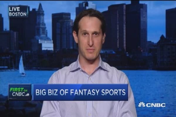 The big biz behind fantasy sports