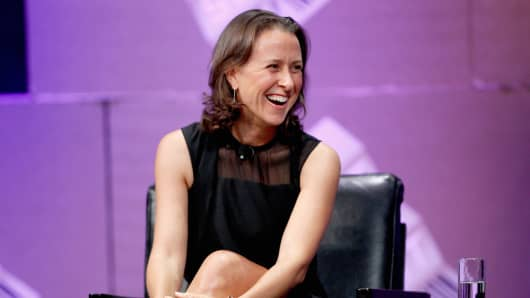 Anne Wojcicki, co-founder of 23andme.