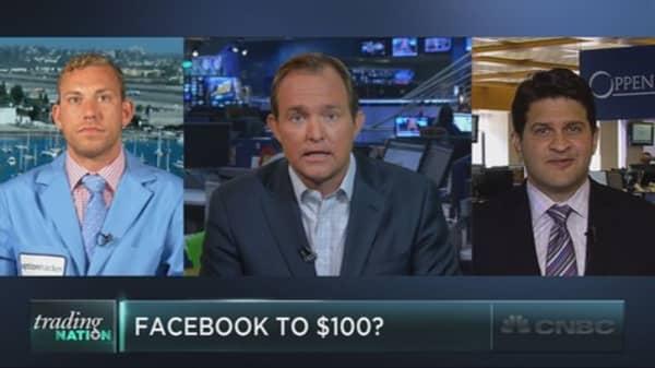 Facebook to $100?