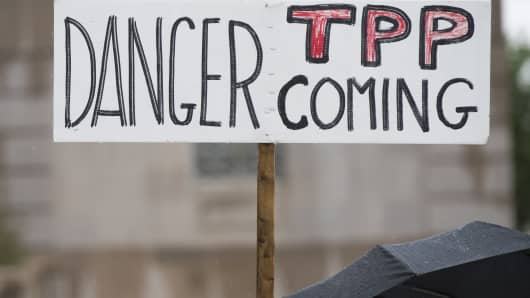 22 items suspended from original TPP deal
