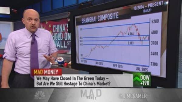 Cramer: China repeats Nasdaq's implosion