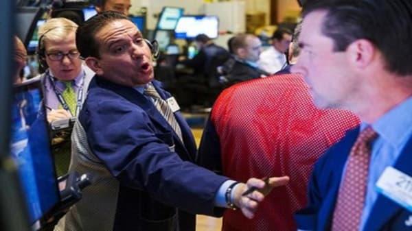 Wall Street awaits Fed, snaps losing streak