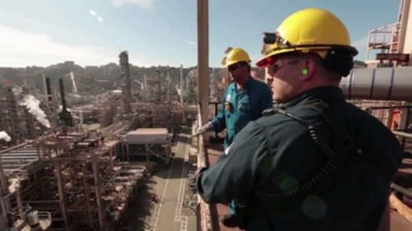 Deep cuts for Chevron