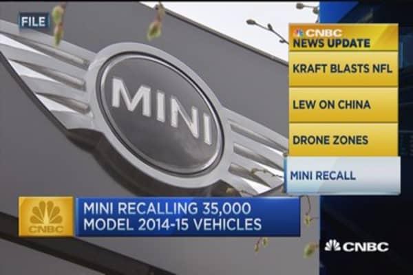 CNBC update: BMW mini recall