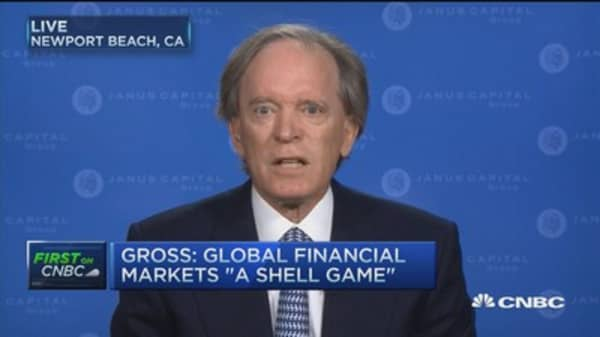 Bill Gross: Global financial markets 'a shell game'