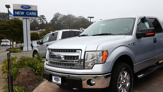 Harvey puts pressure on US auto sales in August