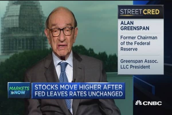 Greenspan: Extremely strong and growing labor market