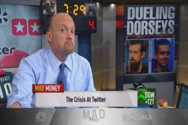 Twitter has shot at a turnaround: Cramer