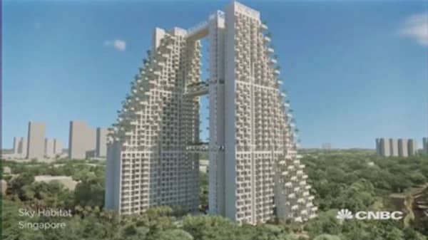 Star architect Moshe Safdie's latest creation