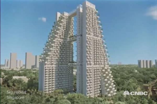 Star architect Moshe Safdie's latest creation