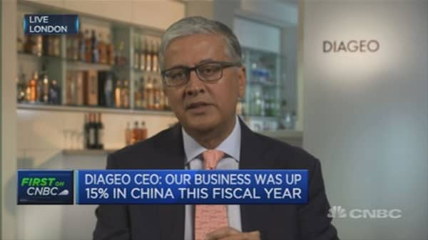 Americans are 'drinking better': Diageo CEO