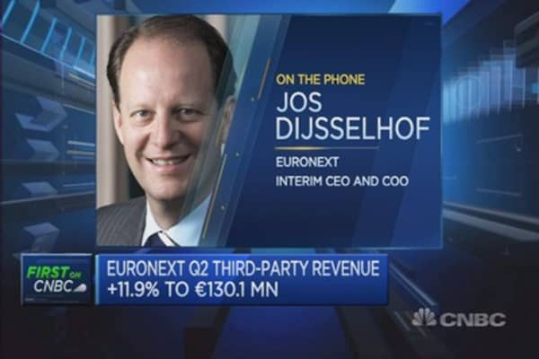 Expect more listings: Euronext Interim CEO