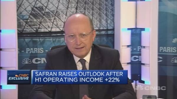 We don't make bets on euro/dollar: Safran