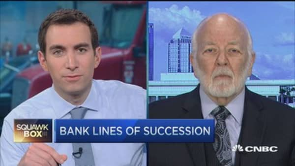 Dick Bove bullish on BofA and Moynihan