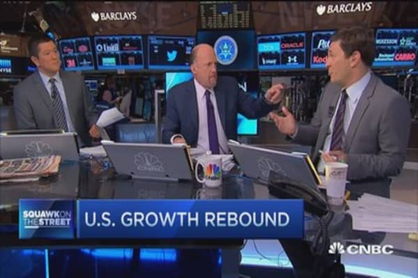 Cramer on 2015's mixed signals