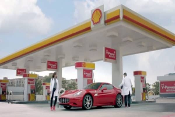 Shell's profits plunge