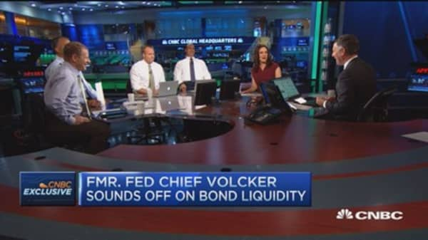Fmr. Fed chief sounds off on bond liquidity