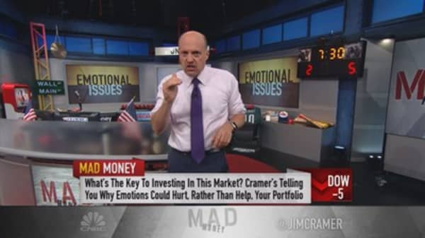 Cramer: Removing emotion from the equation