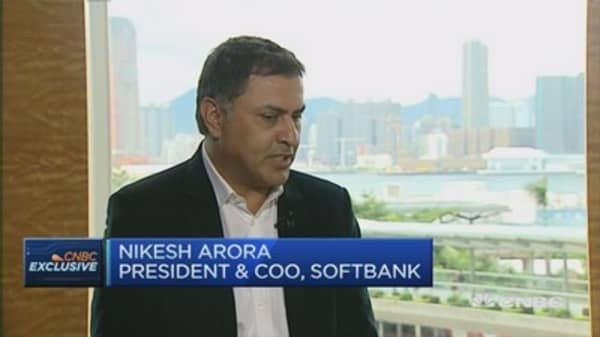Tracking SoftBank's strategy shift