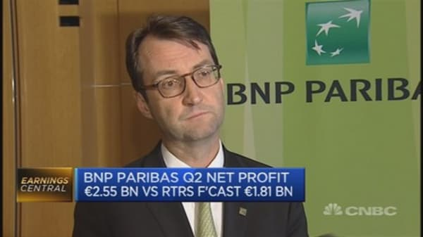 BNP Paribas CFO: Rise in cost of risk due to M&A