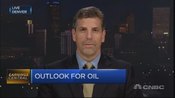 Oil will be mired here for 2015: Analyst
