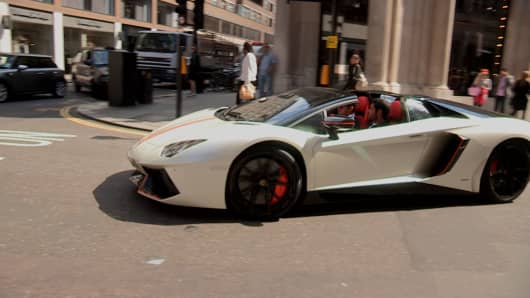 Arab Supercars Are Back On London S Streets But They Are Facing Fines