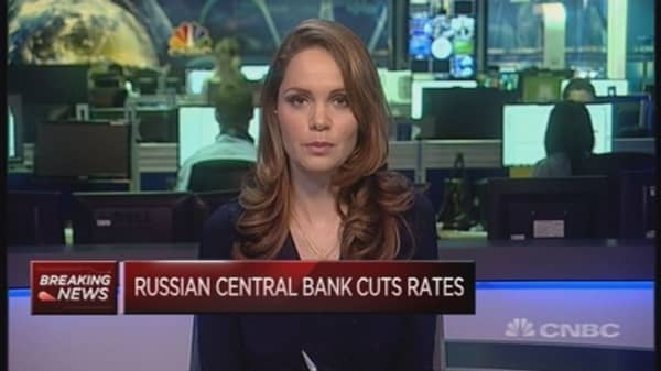 Russia cuts rates by 0.5 pct: Reaction