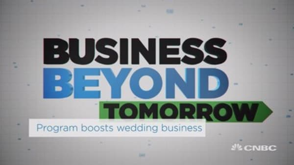 Wedding business sees boost with software