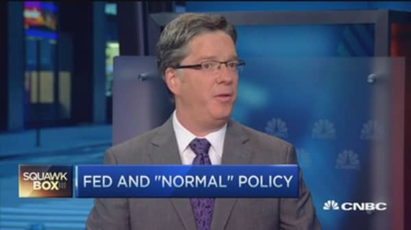 It's still a central banker's world