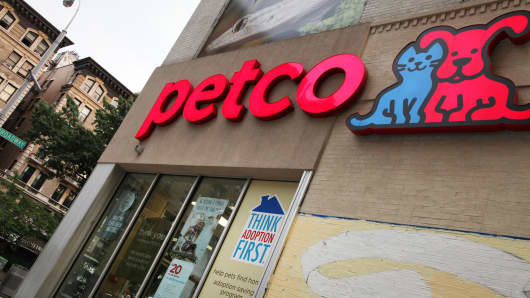 A Petco location in New York.