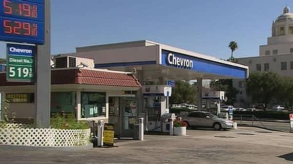Chevron earnings plummet