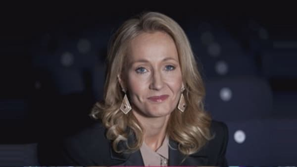 J.K Rowling has a lot to celebrate
