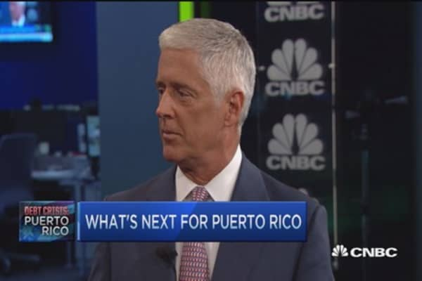Puerto Rico's effect on the bond market