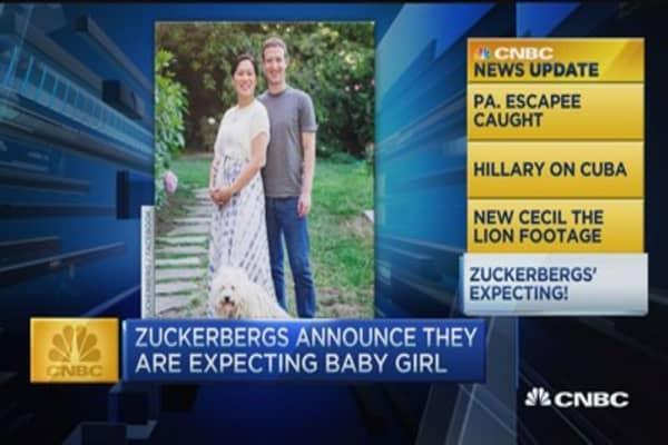CNBC update: Baby Zuckerberg
