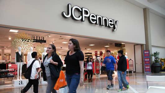 A J.C. Penney store in Laguna Hills, California