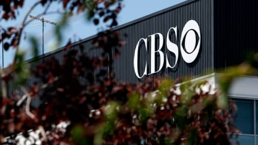 The CBS Television City studio complex in Los Angeles.