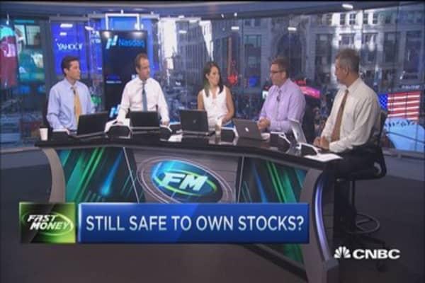 Still safe to own stocks?