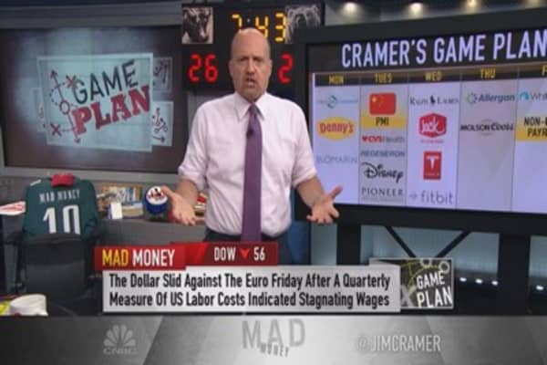 Cramer: Keep one eye on earnings & the other on the big picture