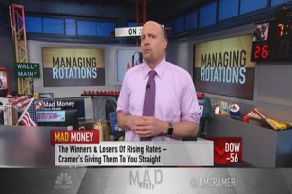 Cramer: Stock picks for Fed tightening