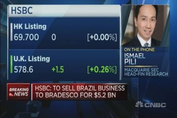 Will the sale of Brazilian unit save HSBC?