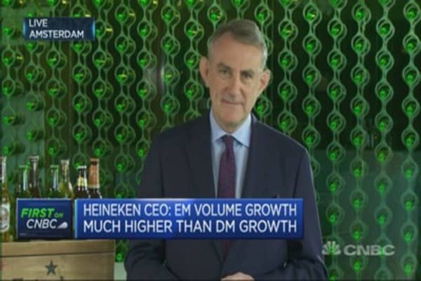 Craft beer helping drive demand: Heineken CEO