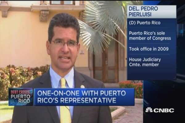 Puerto Rico's 'moral obligation' to pay debt: Pedro Pierluis
