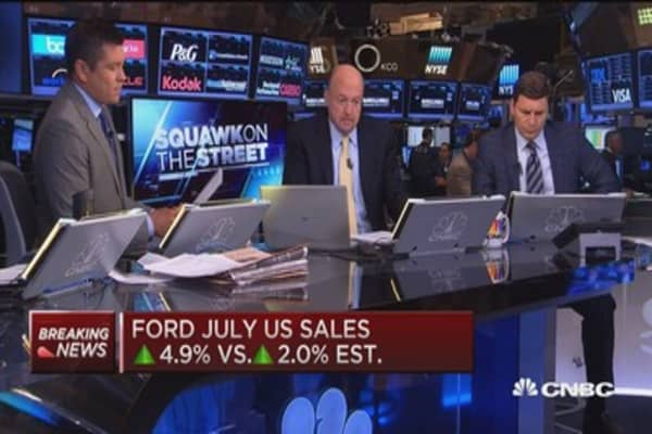 Cramer on why Ford's stock doesn't move