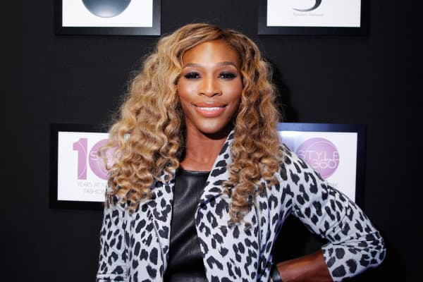 Serena Williams attends the Serena Williams Signature Statement Collection show during STYLE360 on September 9, 2014 in New York City.