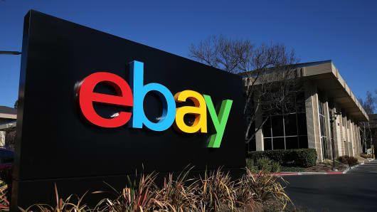 The headquarters of eBay in San Jose, California.